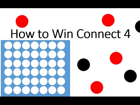 Connect four how to win