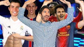 DANCING WITH FOOTBALLERS Ft Ronaldo Messi Di Maria Sturridge Terry  Footy Friends