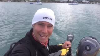 Testing an electric outboard!!! Aquaparx 60 LBS