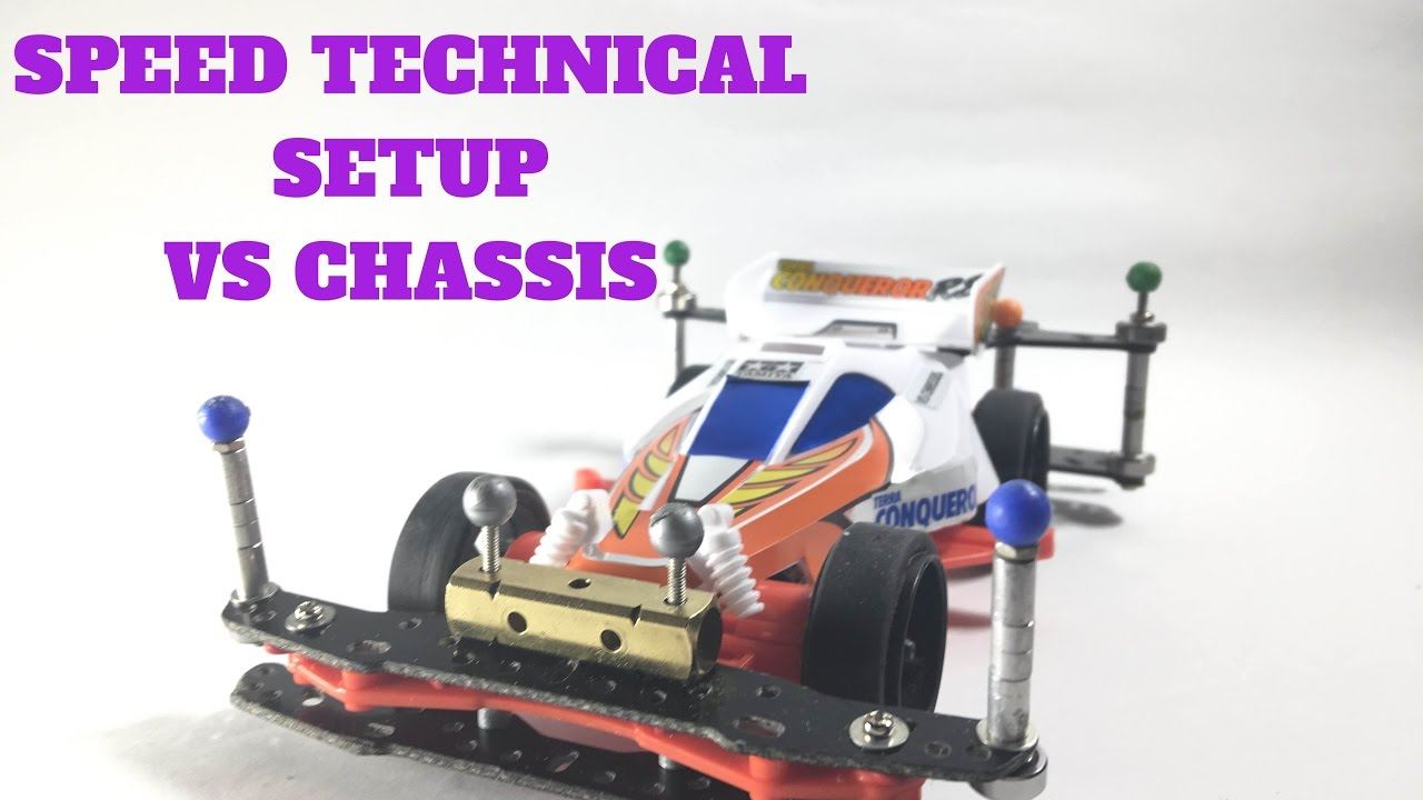 TAMIYA MINI 4WD VS CHASSIS SPEED TECHNICAL SETUP