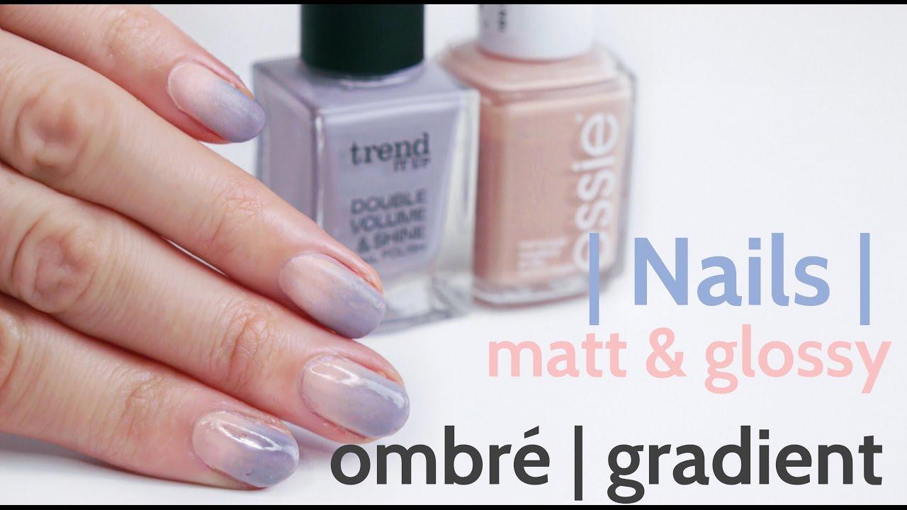Nägel| DIY Pastel Ombre-Nails Winter - schnell & einfach - Nägel mit ...