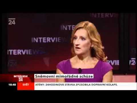 Lubomír Zaorálek v pořadu ČT Interview - 22.9.2011