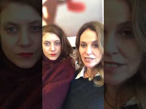 Kate Walsh and Amy Brenneman was LIVE as they celebrate GalentinesDay