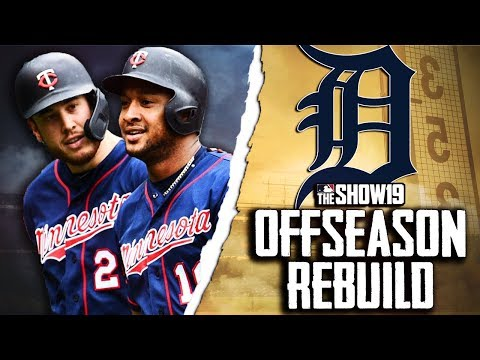 DETROIT TIGERS OFFSEASON REBUILD | MLB The Show 19 Franchise