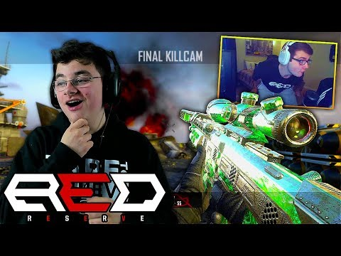 I HIT THE RED HOUSE'S BEST COD TRICKSHOTS! (rip red reserve..)