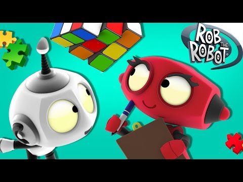 Cartoon | Learn Something New With Rob | Cartoon For Kids | Rob The Robot