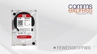 Western Digital 5TB Red Pro 128MB 3.5 Sata Hard Drive 6GB