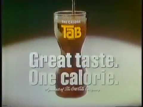 Tab cola ad - 1982