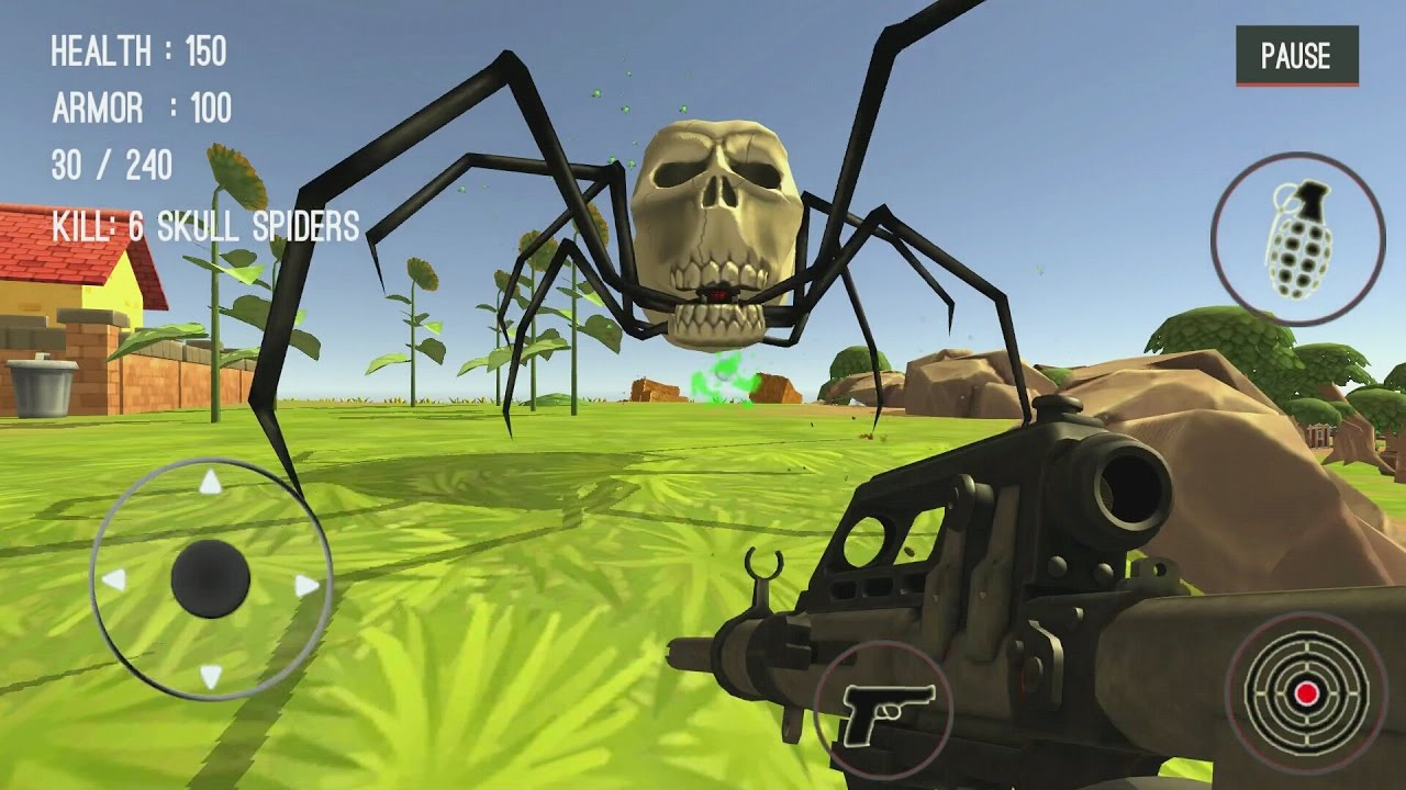 Spider Hunter Amazing City 3D Android Gameplay #5