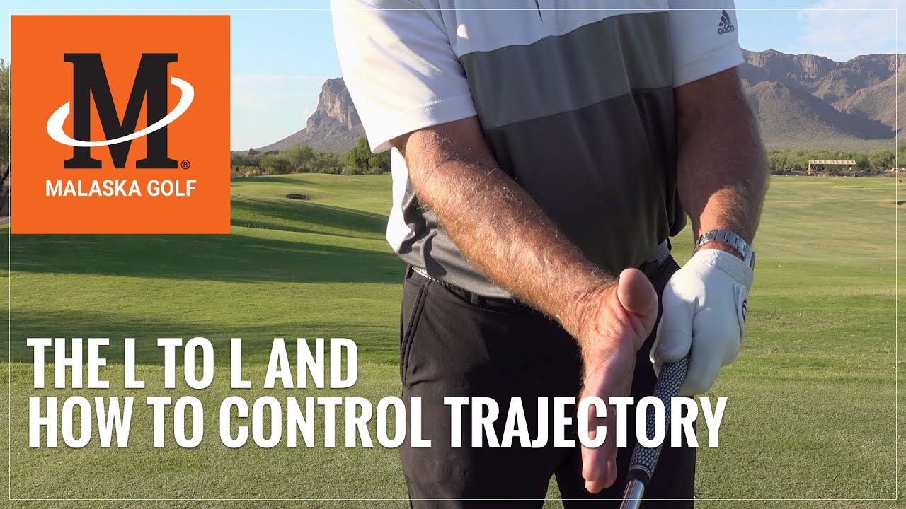 Malaska Golf // The L to L and How To Control Trajectory on Your Short Irons