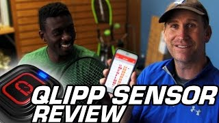 Tennis Review: Qlipp Sensor Review