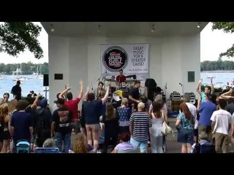 Moon Hooch live @ Salem Jazz & Soul Festival August 2014