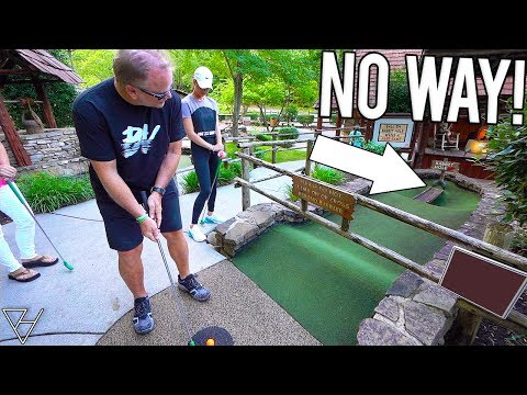 Our Best Mini Golf Hole In One Combo Ever! - WON The Grand Prize!