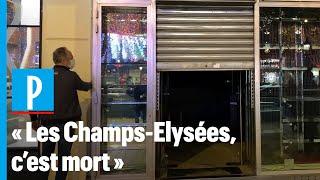 «Dans 30 minutes, on rend les clés» : les commerces des Champs-Elysées en difficulté