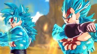 Dragon Ball Xenoverse - SSGSS4 Goku & SSGSS4 Vegeta Fusion (1080p HD)