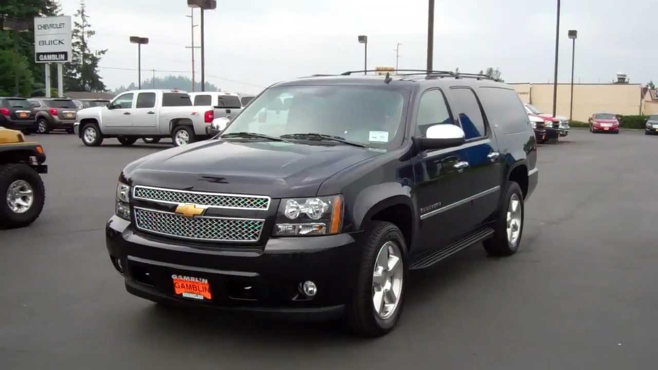 Sold Enumclaw Chevrolet Dealer 2013 Chevrolet Suburban Ltz