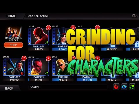 Grinding for New Characters! - DC Comics Legends
