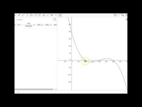 how to see polynomial graph on desmos