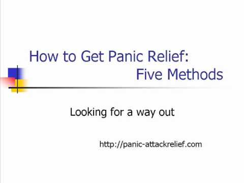 how-to-get-panic-attack-relief