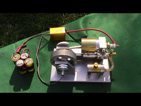 Model Horizontal Engine
