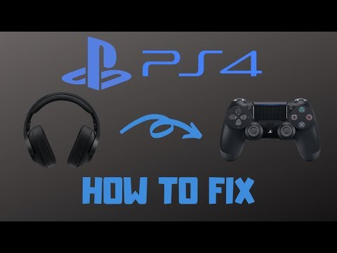 How To Fix Microphone/Headset On PS4