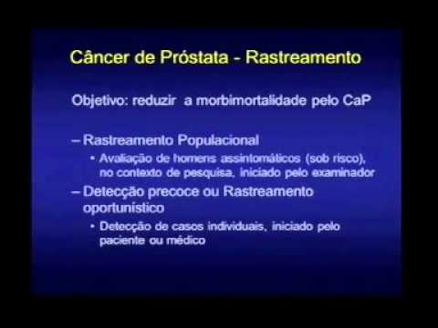cancer prostata rastreamento