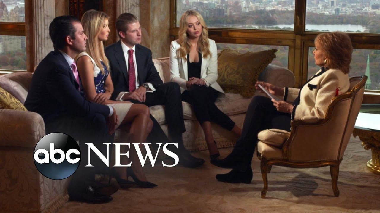 Donald Trump's Wife, Children Talk About His Campaign, Home Life ...