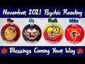 أغنية NOVEMBER 2021 Good News Blessings Soul Music Channeled Messages GUIDANCE Pick A Card