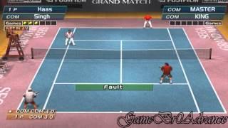 Virtua Tennis 1 - Sega Grand Match (Dobles ante KING y MASTER)