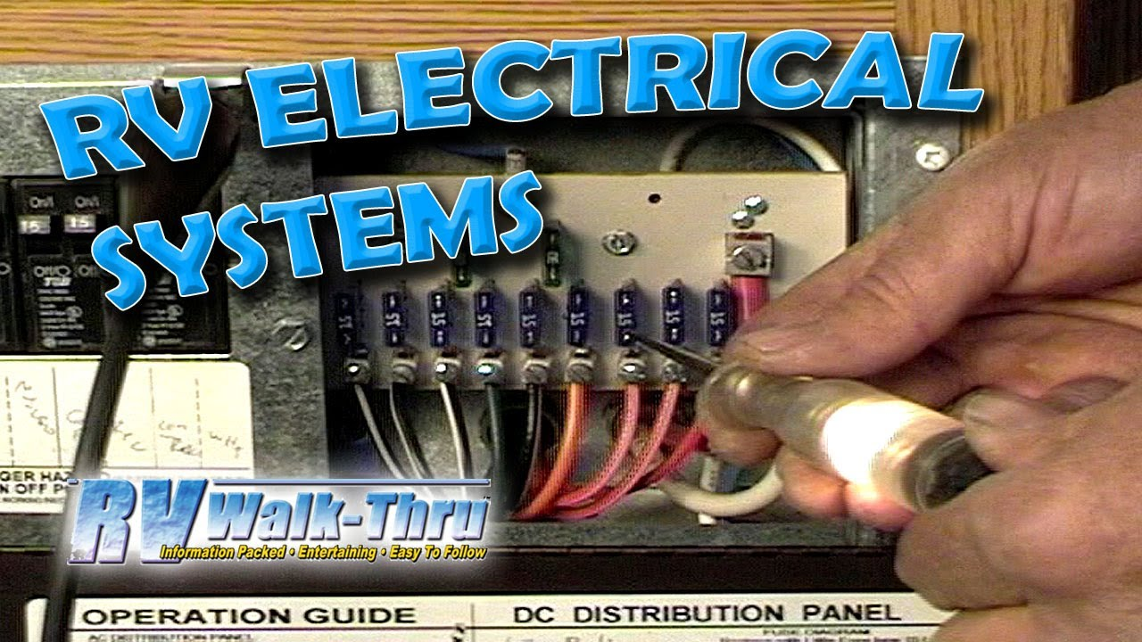 RV Walk-Thru: Electrical - Learn about the electrical system on your RV -  YouTube | Winnebago Ac Wiring |  | YouTube