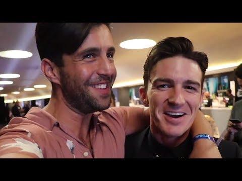 Josh Peck & Drake Bell Joke About Wedding Snub In VMAs Reunion Vlog