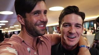 Josh Peck & Drake Bell Joke About Wedding Snub In VMAs Reunion Vlog