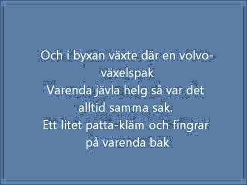 Joddla Med Siv - Tony Tuggar Tuggummi | Lyrics