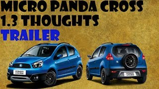 MICRO PANDA CROSS 1.3 THOUGHTS TRAILER (Geely lc)