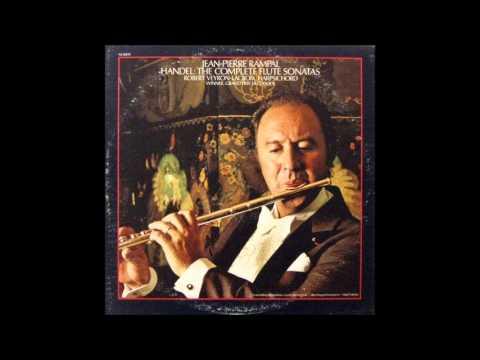 Jean-Pierre Rampal, Handel Flute sonatas 1