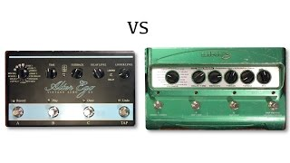 TC Electronic Alter Ego X4 vs Line 6 DL4