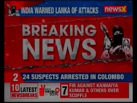 Indian Agencies Warned Sri Lanka about possible attacks by Jaish E Mohammad; Colombo Blasts