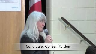 Owen Sound Municipal Election 2010 Colleen Purdon - theOwen.com