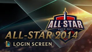 Allstar Paris 2014 - Login Screen