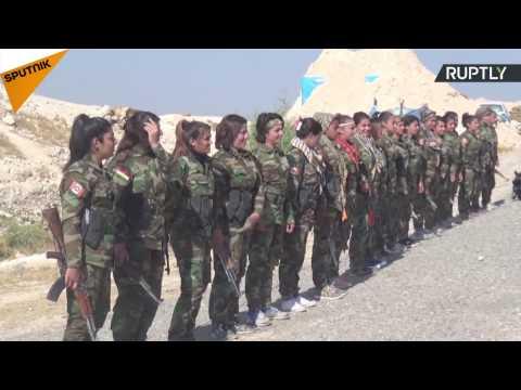 Lethal Beauty: Meet Female Kurdish Fighters Battling Daesh