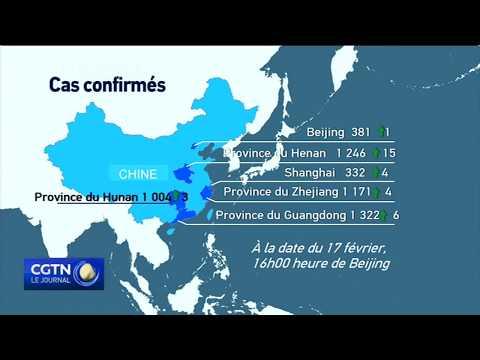 Covid-19: plus de 70 mille cas confirmés et 1772 décès en Chine