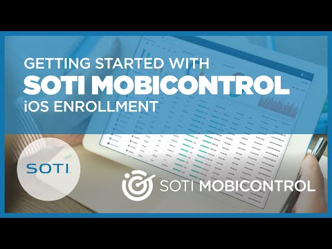 SOTI MobiControl Ver  11 With Lockdown & Speed Control Enabled by