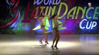 Mikaila & Katrina, Usa, Latin Ladies Same Gender Amateur Couple, Final 1st Place, WLDC 2016
