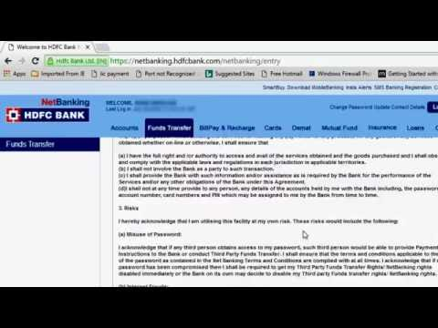 Hdfc netbanking – buzzpls.Com