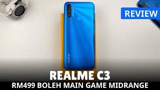[REVIEW] REALME C3 Grafik Game Tinggi Macam Smartphone Midrange 5000mAh