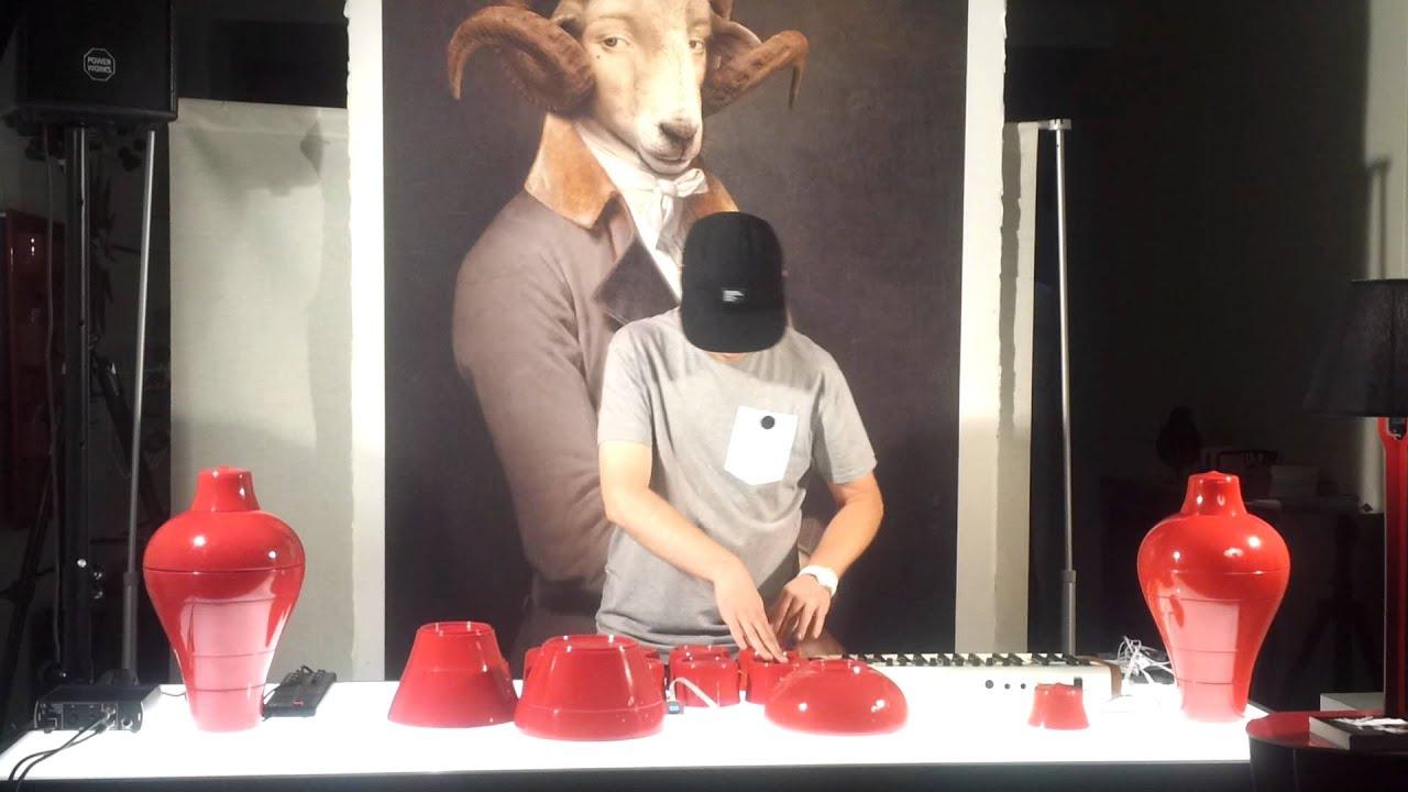 Yoggyone Chez IBRIDE, Mix Vase Ming [Design Week] - YouTube
