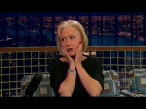 Helen Mirren's Keith Moon story on Conan (2008)