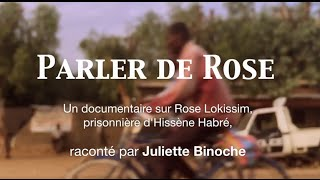 TALKING ABOUT ROSE, PRISONER OF HISSÈNE HABRÉ. English subtitles