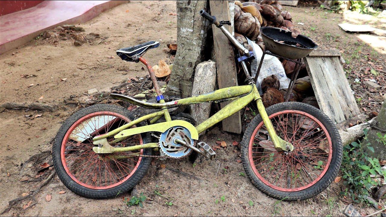 Old BMX Bicycle Full Restoration