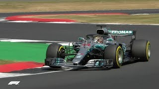2018 British Grand Prix: Qualifying Highlights